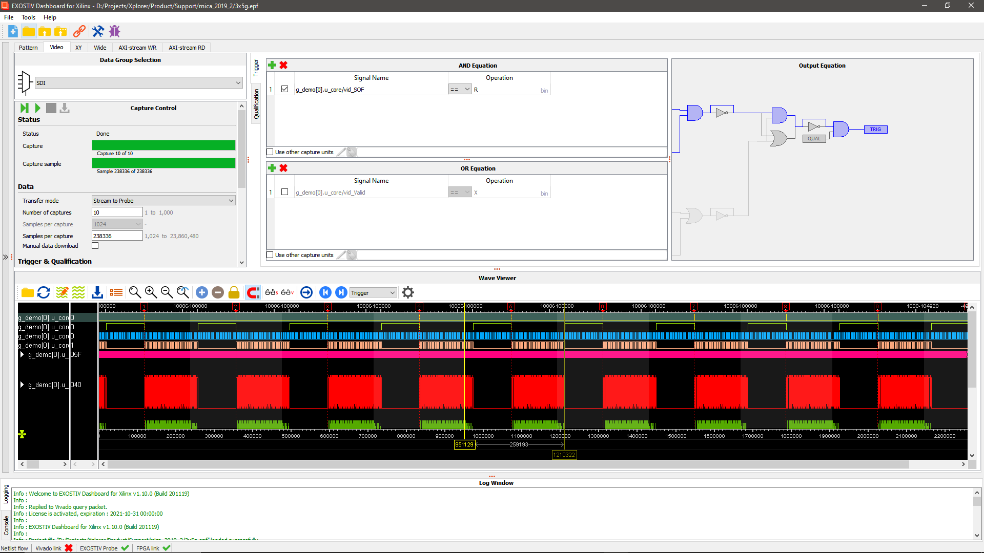EXOSTIV enables new FPGA debugging scenarios