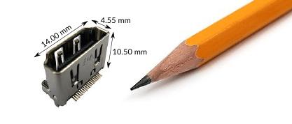HDMI Female connector
