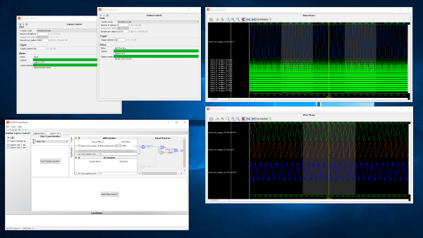 EXOSTIV Dashboard software screenshot preview