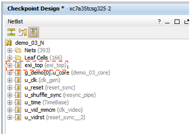Using 'Design Checkpoint' (DCP) flow type – Exostiv Labs