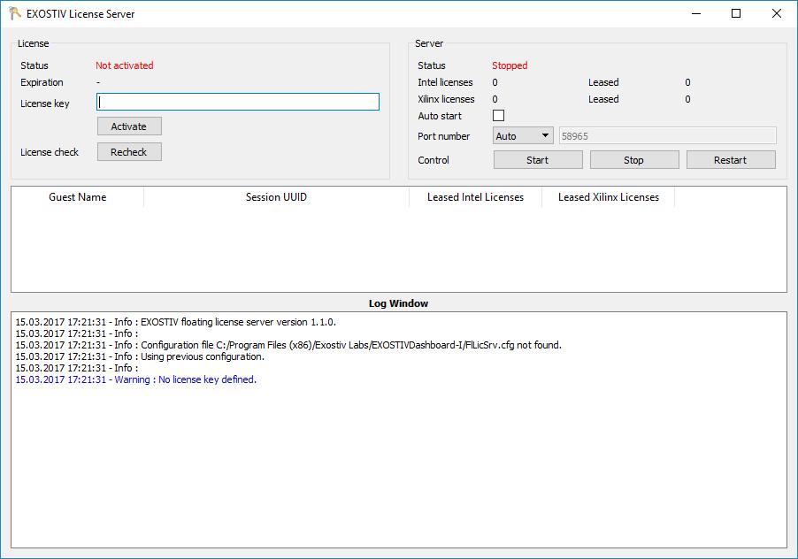 How do I install the license server for floating licenses? – Exostiv
